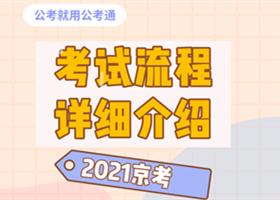 2021年北京公务员考试详细流程早知道!