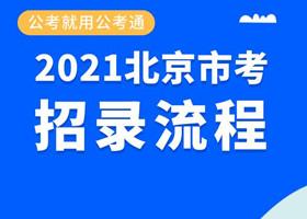 2021年北京公务员考试招录流程